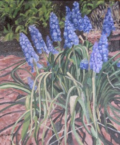 "Spring in Bloom #1, 2010, Oil on Canvas, 10"" x 12"""