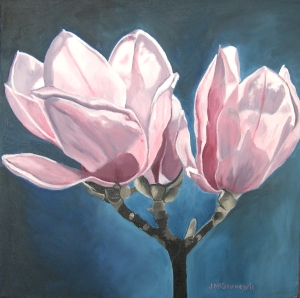 Magnolia Blooms#2,  2011