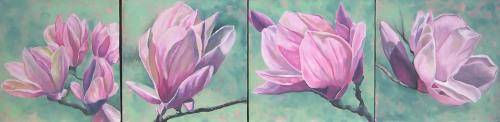 Magnolias x 4 2012