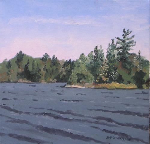 Plein Air Head Lake