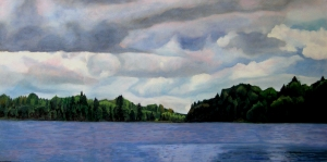 August Days Ontario, 2012, 36 x 24, Oil on canvas