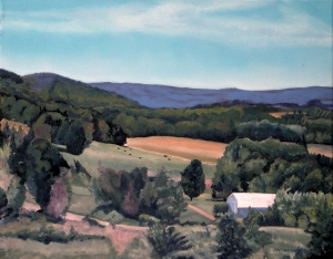 Mulmar Hills No 1, 2012, 20 x 16, Oil on canvas