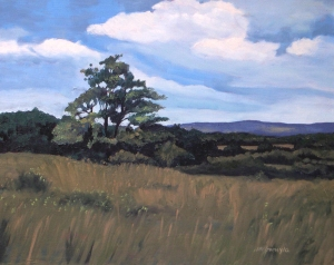 Mulmar Hills No, 2 2012, 20 x 16 oil on canvas