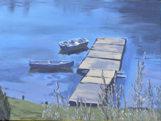 At  the Dock 2016 16 x 12 ii