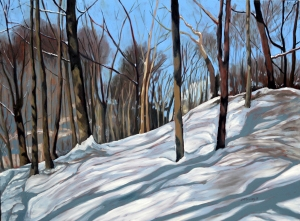 Winter Woods 2013 4ft x3ft