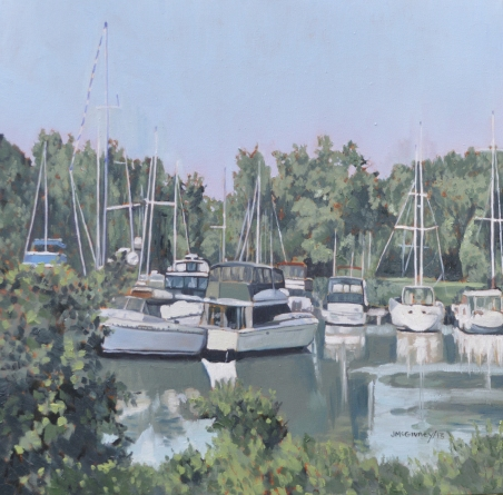 Yatch Club, The Bluffs 2013 20x20