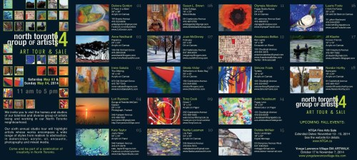 NTGA Art Tour and Sale May 3 & 4