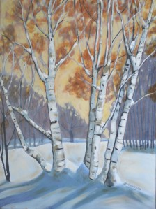 Winter Birch 2014 18 x 24 iii brighter