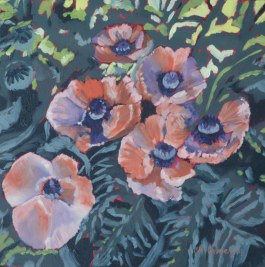 Poppies 2014 oil web